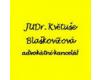 JUDr. Květuše Blaškovičová, advokátka
