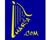 Hudební nástroje Harfa