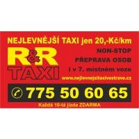 R & R TAXI – Nejlevnejší taxi v Ostravě