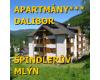 Apartmány Dalibor – ŠPINDLERŮV MLÝN
