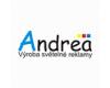 Andrea - výroba světelné reklamy