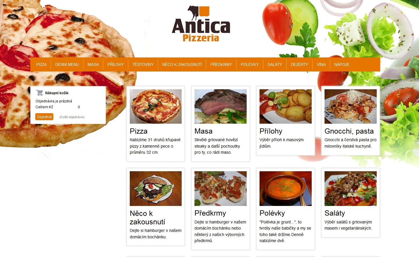Pizzeria a pension Antica