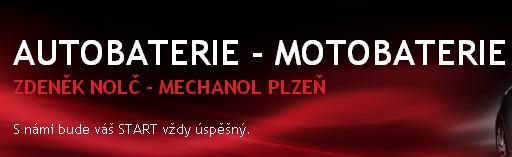Autobaterie - motobaterie Mechanol