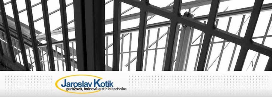 Garážová vrata - Jaroslav Kotík