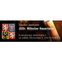 JUDr. Miloslav Hauerland, soudní exekutor