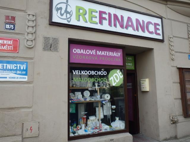 REFINANCE s.r.o. – Velkoobchod obalovým a spotřebním materiálem