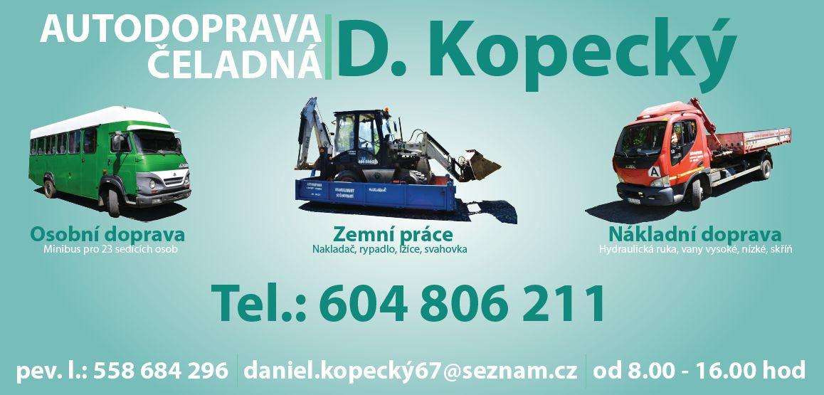 AUTODOPRAVA – Daniel Kopecký