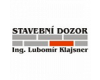 Stavební dozor – Ing. Lubomír Klajsner