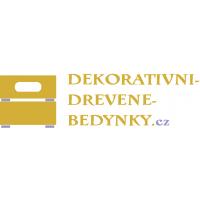 Dekorativní dřevěné bedýnky