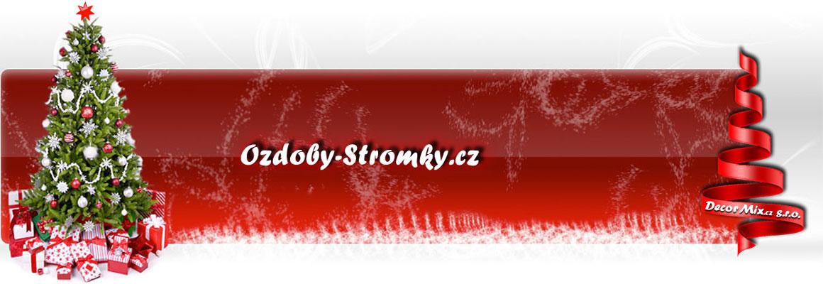 Ozdoby-Stromky.cz – Vánoční umělé stromky