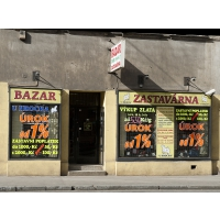Zastavárna a Bazar