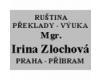 Mgr. Irina Zlochová
