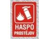 HASPO, spol. s r.o. - hasicí přístroje