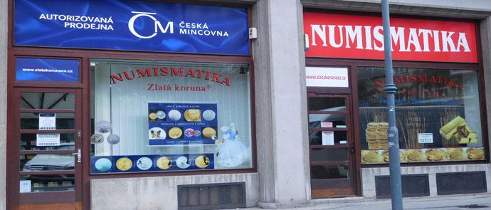 Numismatika Zlatá koruna