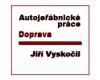 Autojeřábnické práce - Jiří Vyskočil
