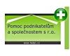Tomáš Hlavsa - zakládání firem a účetní poradenství