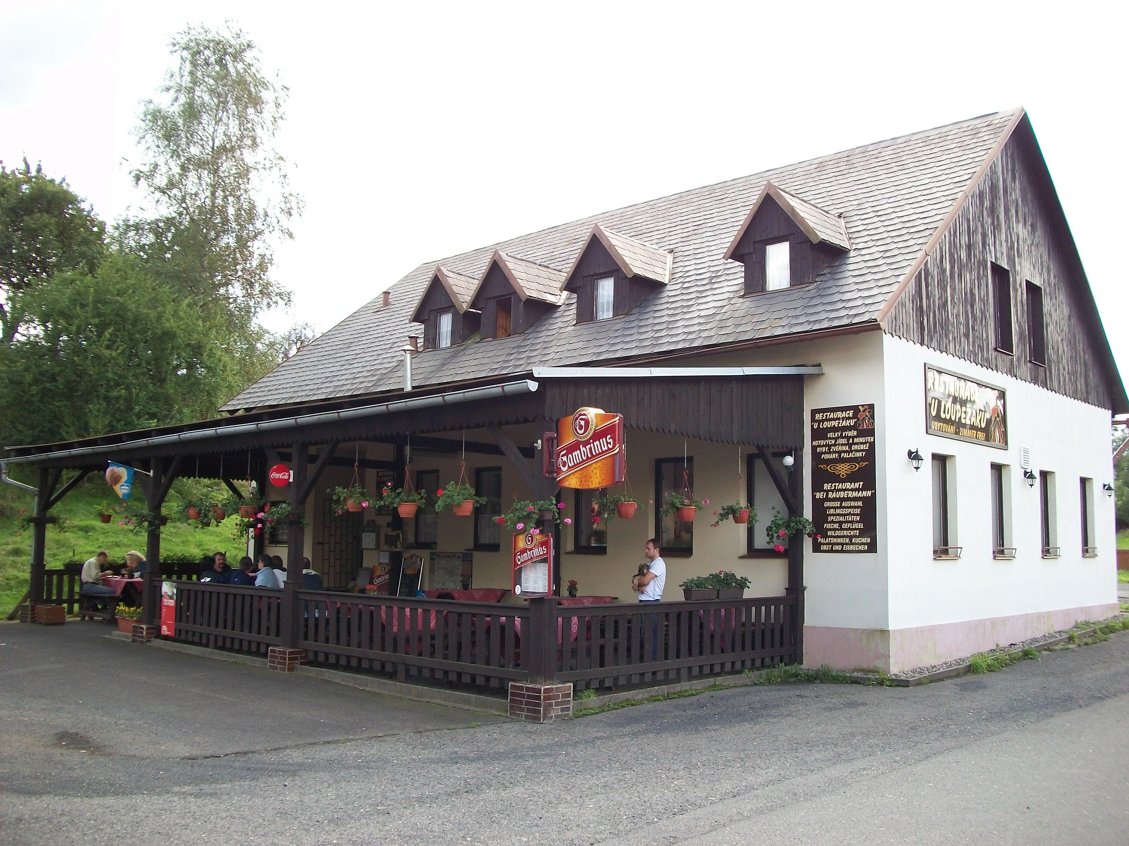 Václav Kolář – Penzion pod hradem Loupežák
