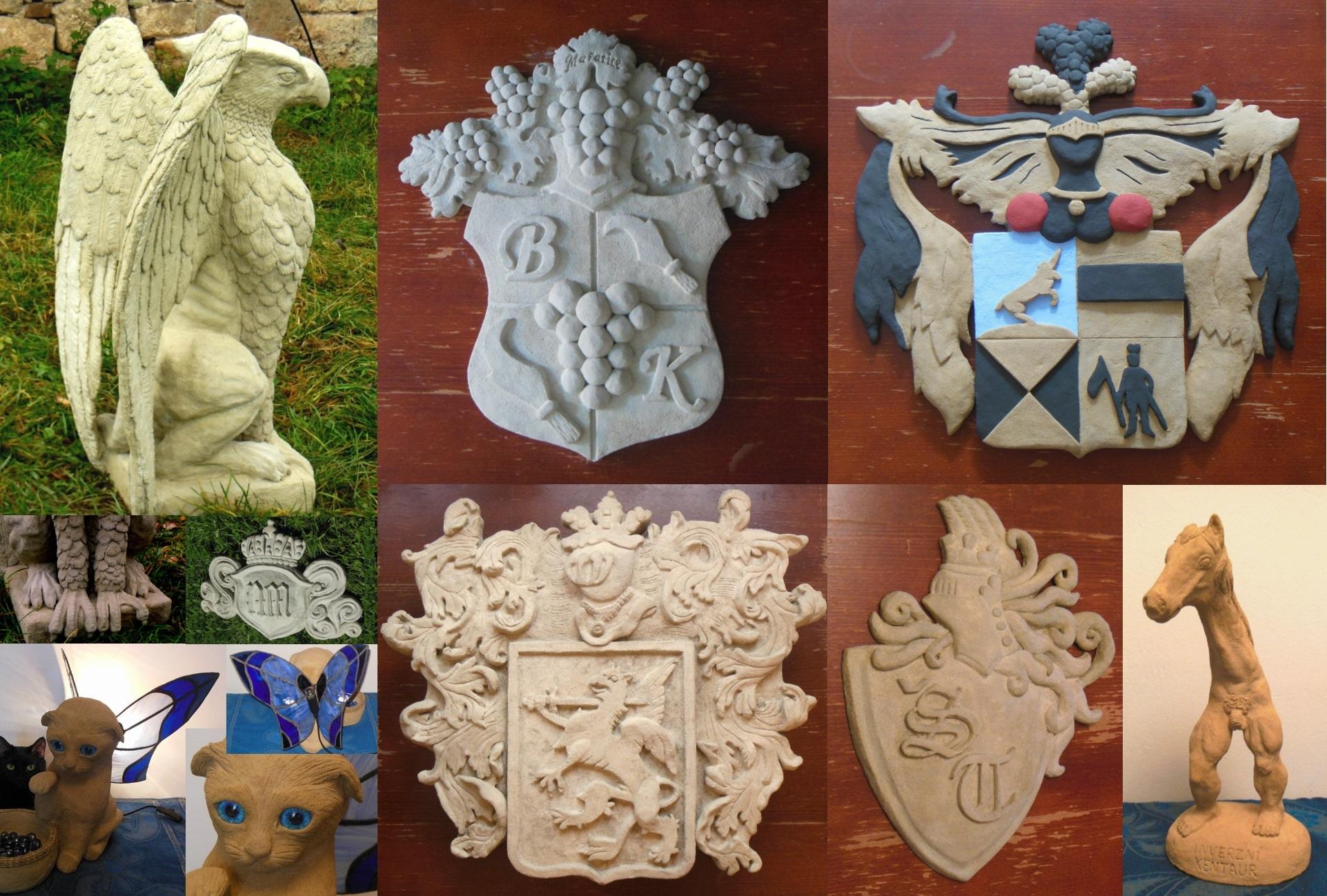 Elinor Arts - erby, 3D loga, sochy na zakázku