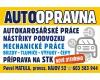 AUTOOPRAVNA MATULA - Opravy osobních a dodávkových automobilů