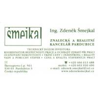 Ing. Zdeněk Šmejkal  – Znalecká a realitní kancelář Pardubice
