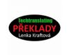 Techtranslating - překlady italštiny a angličtiny