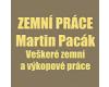Zemní práce Martin Pacák