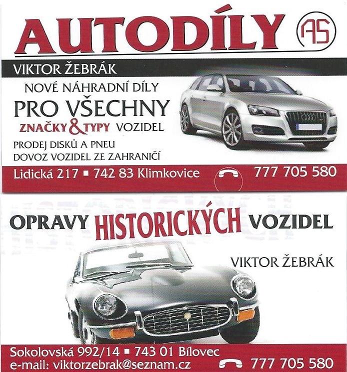 Viktor Žebrák – autodíly