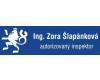 Ing. Zora Šlapánková – autorizovaný inspektor