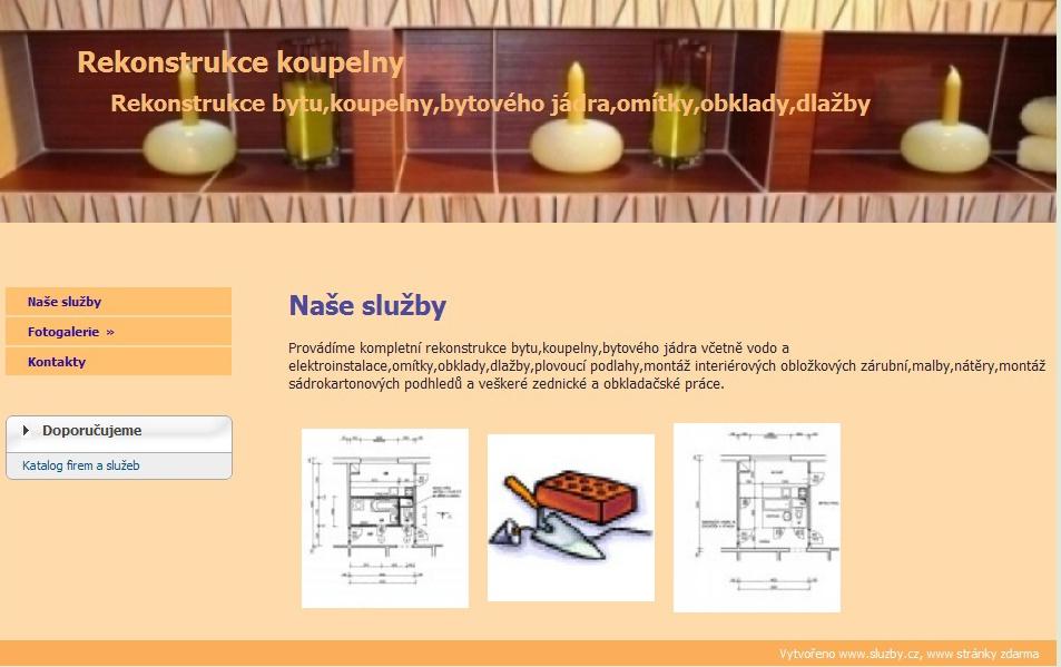 Rekonstrukce koupelny Ostrava