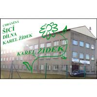 CHRÁNĚNÁ ŠICÍ DÍLNA – Karel Žídek
